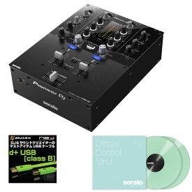Pioneer DJ DJM-S3 + Seratoコントロールヴァイナル G.I.D. DVS SET 【高品質のOYAIDE d+USBケーブル class Bをプレゼント!】