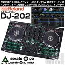 Roland DJ-202 【発売記念!期間限定Serato DJライセンス付属】