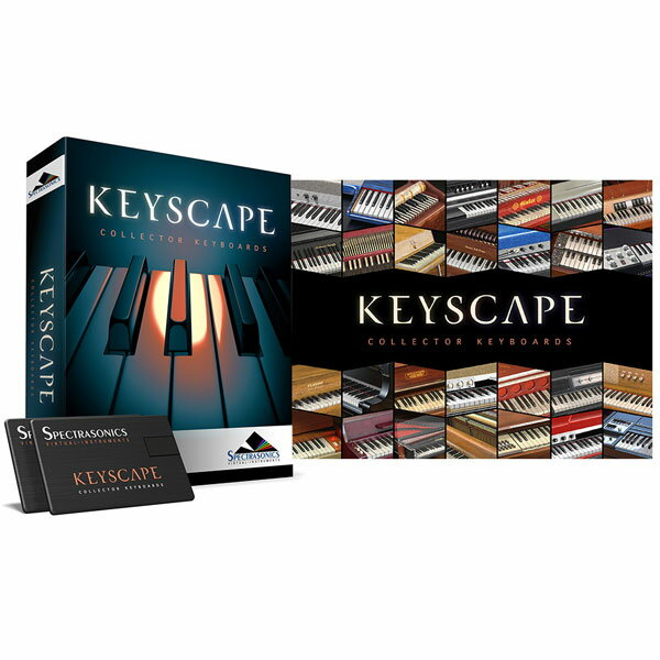 SPECTRASONICS Keyscape【USBインストーラー版】【数量限定特価】【P8】
