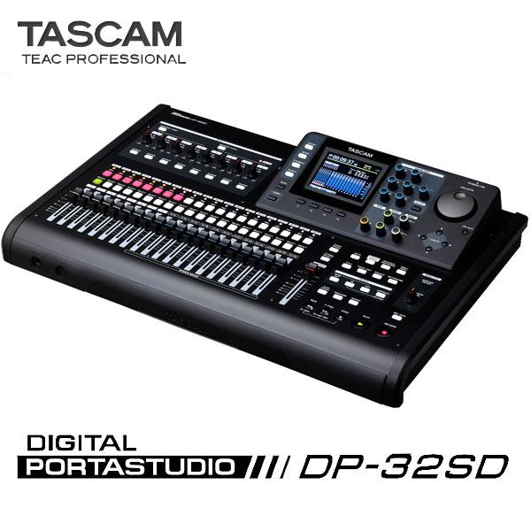 TASCAM DP-32SD 【予約商品 / 5月末入荷予定】 【P10】