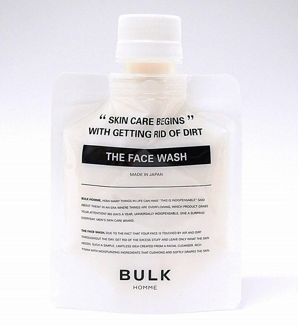 【送料無料】バルクオム ザ フェイスウォッシュ 100g【BULK HOMME the face wash】【洗顔料】【あす楽対応】4589917790014