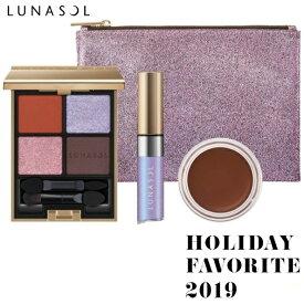 【数量限定】 ルナソル ホリデーフェイバリット 2019 LUNASOL HOLIDAY FAVORITE 2019