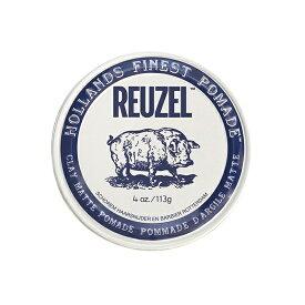 REUZEL ルーゾー ポマード ホワイト 113g 水溶性 ポマード ストロングホールド クレイ マット サロン専売品 【NS】
