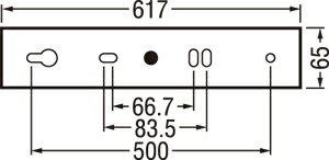 オーデリックODELIC【キッチンライト手元灯OB255105昼白色コンセント付スイッチ付FL20W相当】