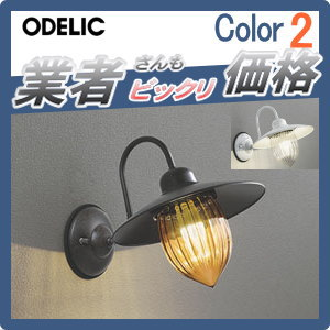エクステリア 屋外 照明 ライトオーデリック(ODELIC) 【ポーチライト OG254238LC OG254237LC】 ブラケットライト 壁面・玄関灯 ヨーロピアンカントリーの温もりを灯す 別売りセンサー有り