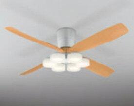 照明 おしゃれオーデリック ODELIC シーリングファンライト DCモーターファン 4枚羽根 木調WF061 器具本体WF066LD 灯具[6灯] 電球色・〜8畳