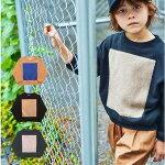 6°vocaLe(セスタヴォカーレ)スクエアプルオーバー(90~150cm)子供服キッズトレーナートップスカットソー