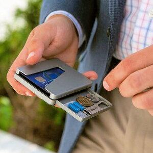 VERREDWALLETスワイプアクセスウォレット財布サイフカードケースコンパクトウォレットメンズレディースプレゼントギフトコインケース