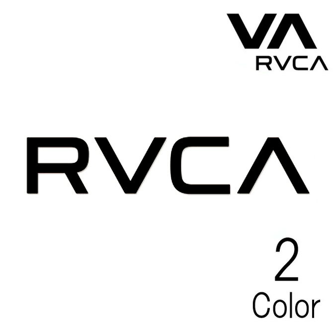 Rvca Thermal Die Cut Cutting Sticker Large Size / ルカ ロゴ カッティング ステッカー ラージ サイズ 【返品・交換不可】