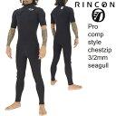 【WEB限定】RinconWetSuit 3/2mmSeagull Limited ChestZipModel / リンコンウェットスーツ 3/2mmシーガル リミテッド チェストジップモ…