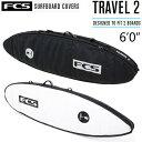 "FCS SurfBoards HardCase ShortBoard Travel Series Travel2 6'0"" / エフシーエス ショートボード ハードケース サーフボードケース 1…"