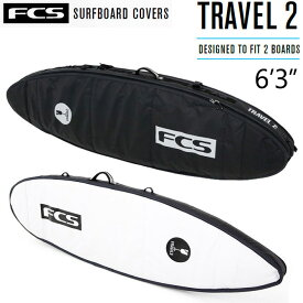 "FCS SurfBoards HardCase ShortBoard Travel Series Travel2 6'3"" / エフシーエス ショートボード ハードケース サーフボードケース 190.5cm"
