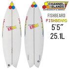 """【中古】チャンネルアイランド アルメリック サーフボード フィッシュベアード モデル 5'5"""" ユーズドボード / UsedSurfboard ChannelIsland Almerrick SurfBoards The FishBeard Model 165.1cm"""