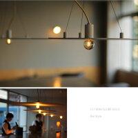 バーやカフェ、飲食店で多く使用されているフィラメントLED電球です。