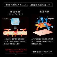 3、伸張発熱ストレッチエナジーの内容。