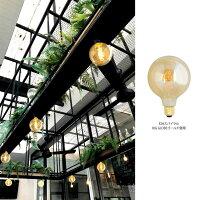 【スパイラルBIGGLOBE】大きいボール球エジソンバルブLEDE26【調光器対応】(LED/4W/100V/口金E26)エジソン電球裸電球ボール型電球丸型。裸電球。エジソンバルブLED。LED電球。ボール形。ビッググローブ。おしゃれ照明