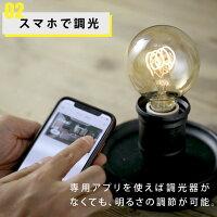 専用アプリを使えばスマホで調光が可能。