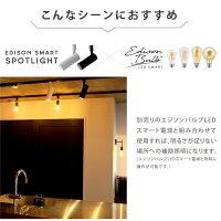 エジソンバルブLEDスマートと併用も可能です。LED一体型スポットライト