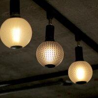 ダクトレールのスポットライト照明にもマッチします。カレイドランプ。エジソンバルブLED電球。和風照明。和室に合うLED電球。