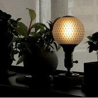 カレイドランプ。バスケットの編み目のような格子線柄。アジアンテイストの照明器具に。サロンやヨガ用照明に。