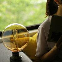 デスクライト、デスクランプにおすすめのエジソン電球。ノスタルジアBIG。シェード要らず。