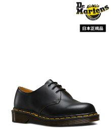 Dr.Martens Made in England Vintage 1461 3 Eye Shoe 12877001 Black ドクターマーチン 1461 3ホール シューズ 英国製 イエローステッチ メンズ レディース