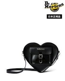 【ポイント10倍 3月11日01:59まで】ドクターマーチン Hearts Leather Backpack AC807033 Black Dr.Martens レザー ハート バッグパック サッチェルバック