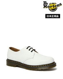 Dr.Martens 1461 3 Eyelet Shoe 26226100 White Smooth ドクターマーチン 3ホール シューズ メンズ レディース