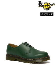 Dr.Martens 1461 3 Eyelet Shoe 26226300 Green Smooth ドクターマーチン 3ホール シューズ メンズ レディース