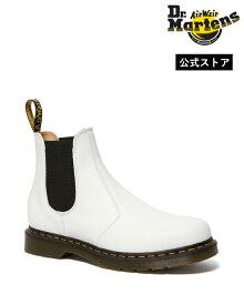 Dr.Martens 2976 Yellow Stitch Chelsea Boot 26228100 White Smooth ドクターマーチン 2976 イエローステッチ サイドゴアブーツ チェルシーブーツ メンズ レディース