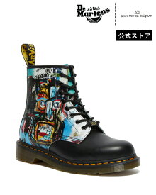 【公式】ドクターマーチン バスキア 8ホール 初回交換送料無料 1460 Basquiat 8 Eye Boot 27187001 Black Smooth+Multi Dr.Martens 1460 バスキア メンズ レディース