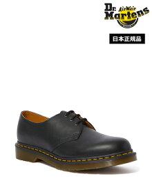 Dr.Martens 1461 Nappa 3 Eye Shoe 11838001 Black Nappa ドクターマーチン 1461 ナッパーレザー 3ホール シューズ メンズ レディース
