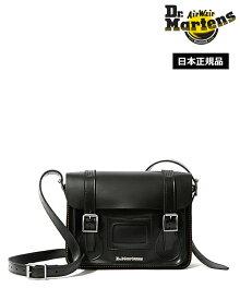 Dr.Martens 11inch Leather Satchel Bag Black AB097001 ドクターマーチン 11インチ レザー サッチェル バッグ