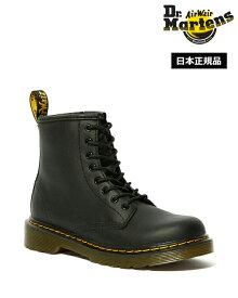 Dr.Martens Kids Delaney Juniors Lace Boot 15382001 Black ドクターマーチン キッズ デラ二ー ジュニア 8ホール ブーツ