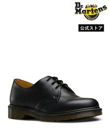 【公式】ドクターマーチン 3ホール 初回交換送料無料 1461 Plain Welt 3 Eye Shoe 10078001 Black Smooth Dr.Martens プレーンウェルト 3ホールシューズ メンズ レディース