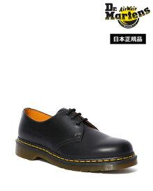 ドクターマーチン Icons 1461 3 Eye Shoe 10085001 Black Smooth Dr.Martens 1461 イエローステッチ 3ホール シューズ メンズ レディース