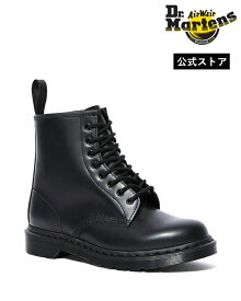 【ポイント10倍 4/20 00:00-23:59まで】ドクターマーチン 1460 Mono 8 Eye Boot 14353001 Black Smooth Dr.Martens 1460 モノ 8ホール ブーツ ブラックステッチ メンズ レディース