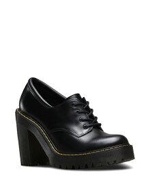 Dr.Martens Salome Padded Collar Shoe 16733001 Black ドクターマーチン サロメ レースアップシューズ チャンキーヒール レディース