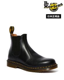 Dr.Martens 2976 Yellow Stitch Chelsea Boot 22227001 Black Smooth ドクターマーチン 2976 イエローステッチ チェルシーブーツ サイドゴアブーツ メンズ レディース