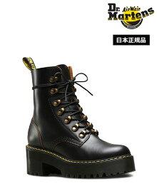 【ポイント10倍 4/20 00:00-23:59まで】ドクターマーチン Leona 7 Hook Boot 22601001 Black Dr.Martens レオナ 7 フック ブーツ チャンキーヒール レディース