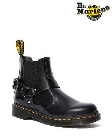 Dr.Martens Wincox Chelsea Boot 23866001 Black ドクターマーチン メンズ レディース バックルハーネス サイドゴアブーツ チェルシーブーツ