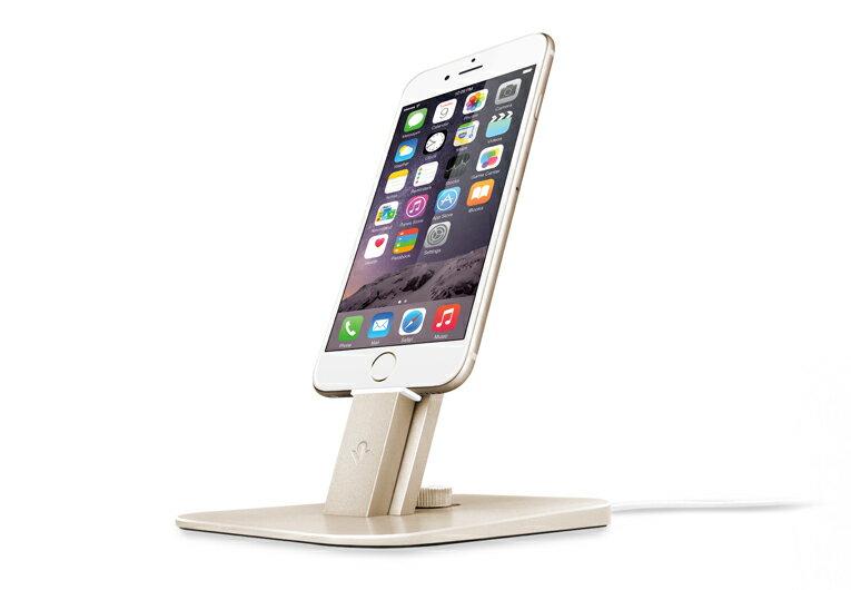 【在庫限り】FOCALPOINT(フォーカルポイント)(国内正規代理店品) iPhone6 iPadAirスタンド Twelve South HiRise Deluxe ゴールド | TWS-ST-000032
