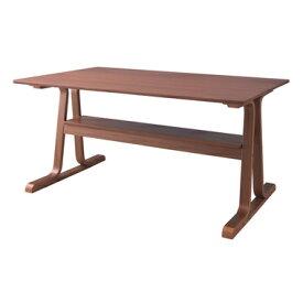 【お取り寄せ】AZUMAYA(東谷)ダイニングテーブル ブラウン VET-333TBR