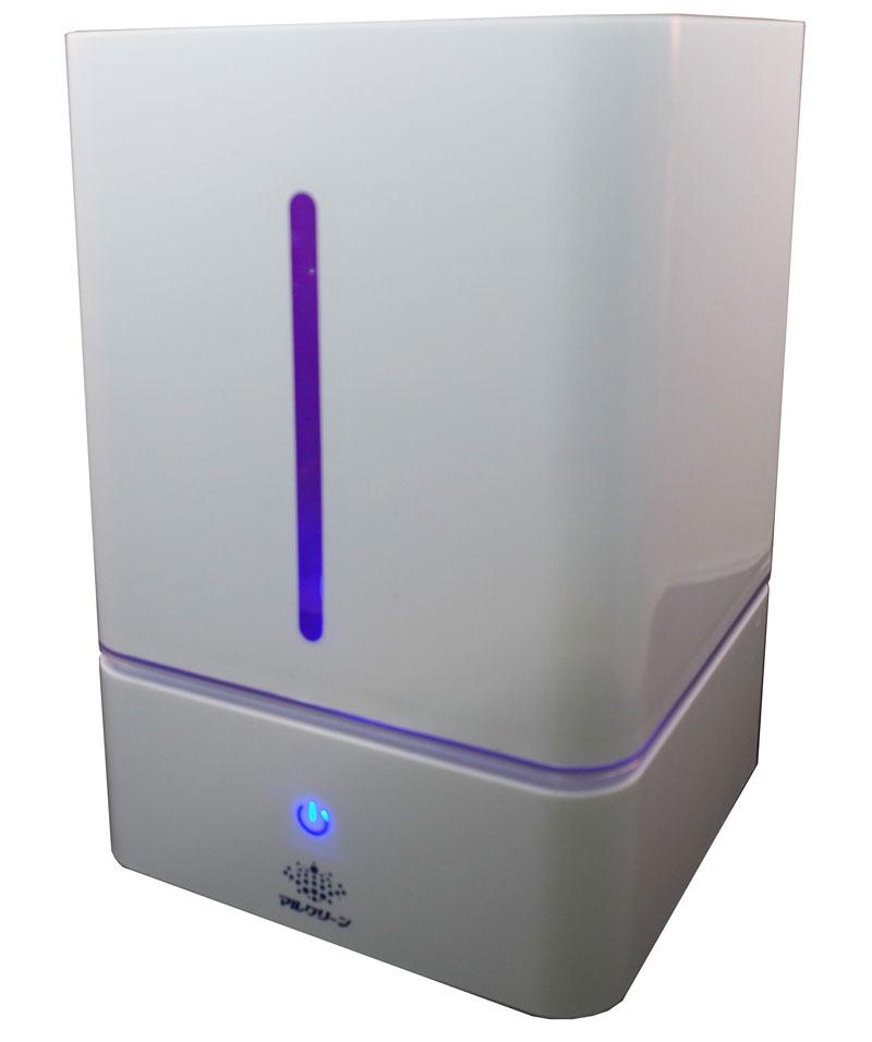 【お取り寄せ】「空気を洗う」除菌・消臭剤マルクリーンピュア 超音波噴霧器 MCD-1801