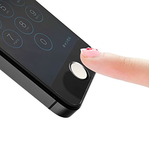【在庫限り】M's select I Finger Button WS 指紋認証対応 ホームボタンシール |MS-IFVB-WS