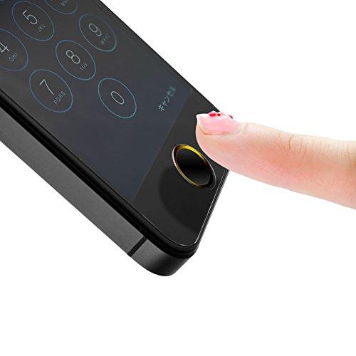 【在庫限り】M's select I Finger Button BG 指紋認証対応 ホームボタンシール |MS-IFVB-BG