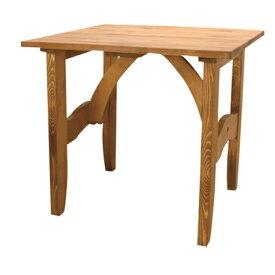 【お取り寄せ】AZUMAYA(東谷) 天然木ダイニングテーブル正方形|CFS-511