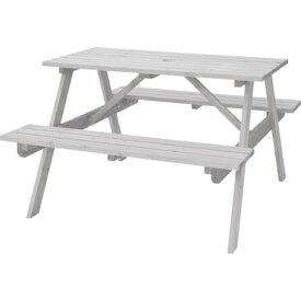 【お取り寄せ】AZUMAYA(東谷) テーブル&ベンチ W120 ホワイト|ODS-92WH