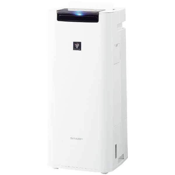 【お取り寄せ】シャープ(Sharp)プラズマクラスター25000搭載 加湿空気清浄機(空清18畳まで/加湿12畳まで)ホワイト|KI-JS40-W