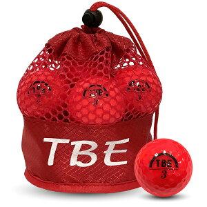 飛衛門 ゴルフボール メッシュバック パールボール レッド R&A公認球 12球 1ダース 飛距離UP (T-2PR) 【RCP】